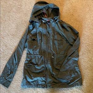 Rue21 Green Utility Jacket